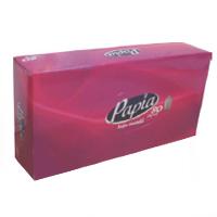 Napkins in Papia Paper box - Tissue Box