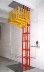 The elevator is interfloor