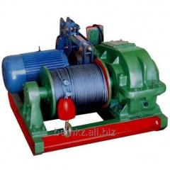 Traction electric winches