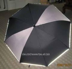 Зонт-трость Black Grey , арт. SU 010-6