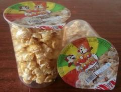 Popcorn sweet 30 gr, glass