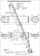 Гидроцилиндр ЦГ-100.63х900.11 (ЕК-12) ковш