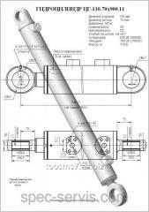 Гидроцилиндр ЦГ-110.70х900.11 (ЕК-14) ковш