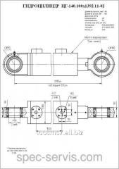 Гидроцилиндр ЦГ-140.90х1120.11-02 Стрела и ковш ЭО-4125