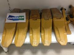 Коронка скальная ковша для экскаватора Doosan DX340 LC
