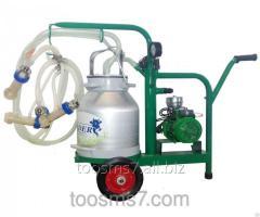 Mobile doitelny unit, 20.4 synchronous milkings