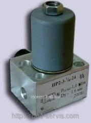 Pneumatic distributor of PR 2-3 24V