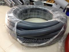 PVC hose (sewer) d63 reinforced by a spiral