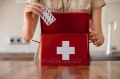 Road first-aid kits