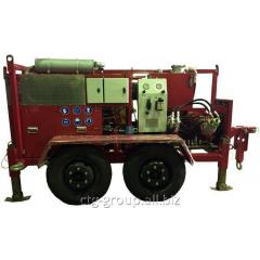 Hydraulic cable trench LSI.100T 100 winch of kN