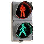 Traffic light Pedestrian P 1.1 + animation + TOOV