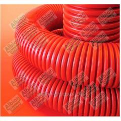 Two-wall corrugated pipe