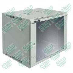 Шкаф настенный 12U, 600*450*635, цвет чёрный