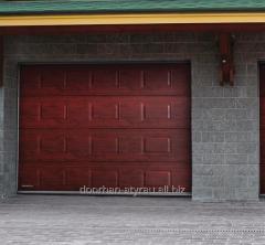 Gate garage RSD02 Gold oak