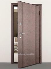Steel door of the Prime minister Comfort of
