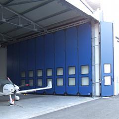 Retractable gate of DoorHan of 2000х2000 mm