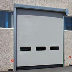 High-speed rolled gate of 1000х1000 mm
