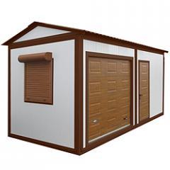 Change house 5200 x 2400х2200 mm