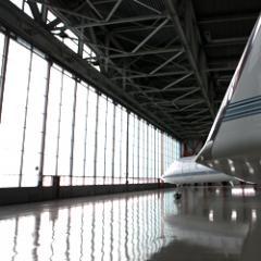 Hangar gate of DoorHan