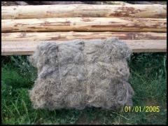 Пакля строительная тюковая, тюк-20 кг