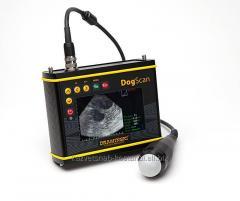 Portable Draminski DogScan ultrasonography scanner