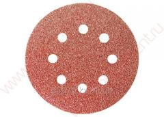 Circle abrasive on a nap substrate under