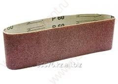 The tape is abrasive infinite, P 100, 75 x 533 mm,