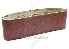 The tape is abrasive infinite, P 80, 75 x 533 mm,