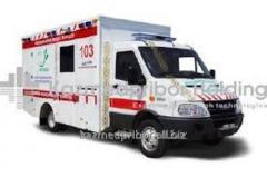 Cars of ambulance