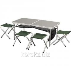 Set of folding furniture FTFS-1 brown