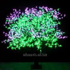 The shining LED tree of Jasmin of 1,2 m
