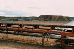 Ленточный  стационарный конвейер