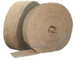 Batting, flax, width is 15 cm, in 1 roll of 30 m.