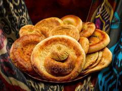 Uzbek flat cakes 250 of.