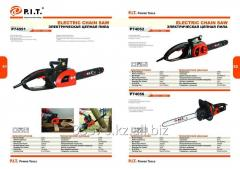 Electric P74051, P74052, P74056 chain saw