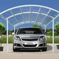 Canopy for the icopal carport car steel 4.0