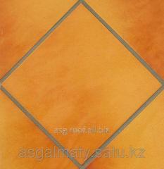 Floor brick tile of lanzarote