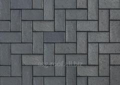 Sidewalk brick of 0670 Berlin blau-anthrazi