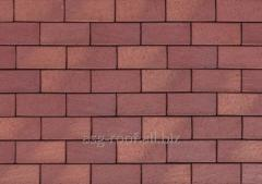 Sidewalk brick of 0690 Koln rot-geflamm
