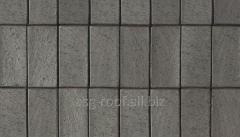 Sidewalk brick of 0795 Schieferschwarz