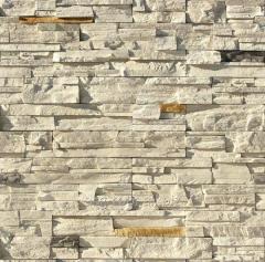 Artificial decorative stone fjord lend