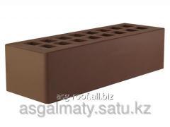 Brick facing dark brown euro 250*85*65