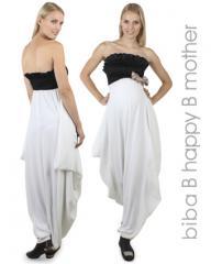Элегантное вечернее платье с открытым верхом - до