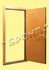 Двери стальные утепленные, Стальная дверь Элит 1.