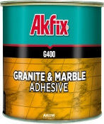 Glue for a stone of AKFIX G400 marble
