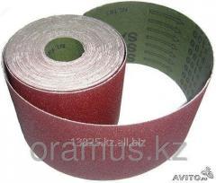 Sanding belt in Rodex rolls