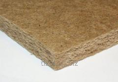 Heat and sound insulating plates of Euro - Bark