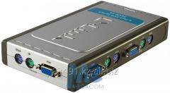 Port Data switch KVM D-Link DKVM-4K switch