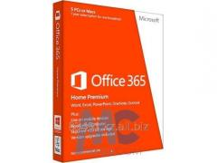 Software of Microsoft Office of 365 Home, 12