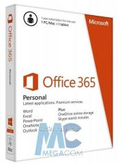 Software of Microsoft Office of 365 Personal, 12